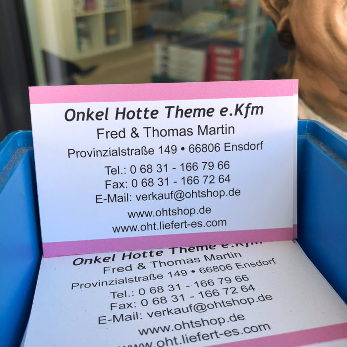 Onkel Hotte Theme in Ensdorf